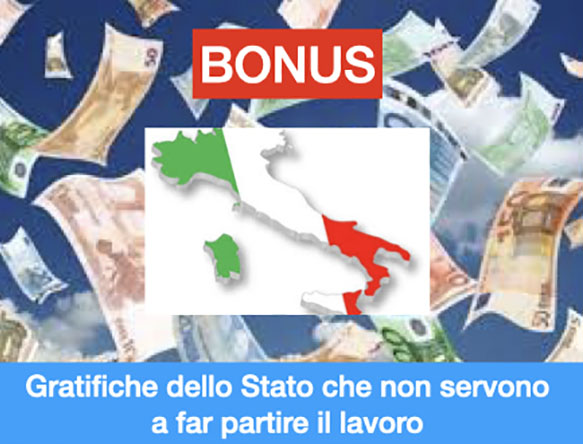 Emergenza sanitaria e l'estate dei BONUS?