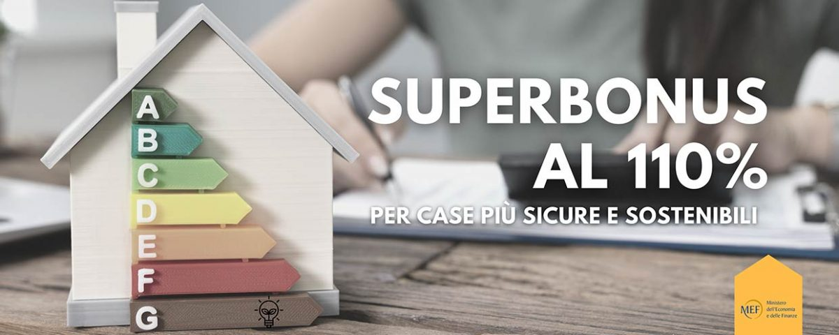 Efficienza energetica e misure antisismiche, le novità per accedere al Superbonus al 110%